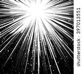 black and white sunburst... | Shutterstock .eps vector #397013551