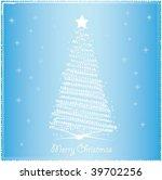 christmas background | Shutterstock .eps vector #39702256