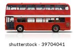 Red Double Decker London Bus...