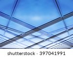 glass architecture. close up... | Shutterstock . vector #397041991