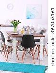 modern living room. furniture... | Shutterstock . vector #397058161