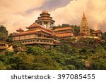 buddhist temple kek lok si in... | Shutterstock . vector #397085455