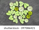 Buttons Wooden Heart Shaped...