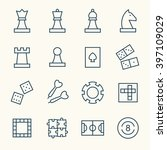 game line icons | Shutterstock .eps vector #397109029