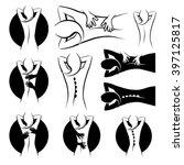 Massage Treatment Icon Set