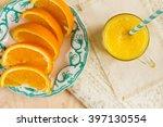 Fresh Orange Juice. Orange...