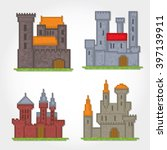 castles and fortresses vector... | Shutterstock .eps vector #397139911
