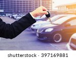 rent a car concept background | Shutterstock . vector #397169881