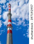 chimney and the blue sky | Shutterstock . vector #397192957
