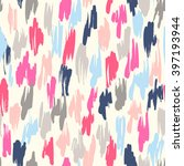 seamless vector pattern made by ... | Shutterstock .eps vector #397193944