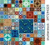 Ceramic Tiles Mega Set. Marine...