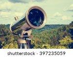 Tourist Telescope For Landscap...