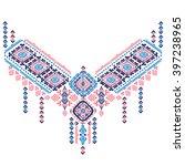 tribal vector ethnic mexican  ... | Shutterstock .eps vector #397238965