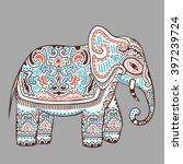 vintage graphic vector indian...   Shutterstock .eps vector #397239724