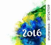 signs symbols inscription 2016... | Shutterstock .eps vector #397247539