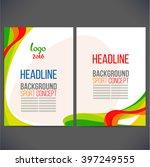 abstract vector template design ... | Shutterstock .eps vector #397249555