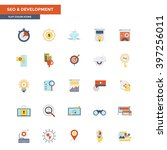 modern flat design icons for...