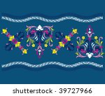 colorful border with imitation... | Shutterstock .eps vector #39727966