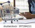 internet online shopping... | Shutterstock . vector #397284211