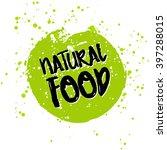 go green eco icon and bio sign... | Shutterstock .eps vector #397288015