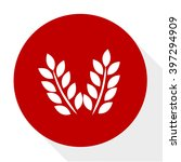 wheat  icon | Shutterstock .eps vector #397294909