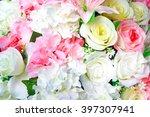 fake flowers. | Shutterstock . vector #397307941