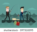 the team.  business concept... | Shutterstock .eps vector #397310395