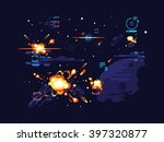 battle star space | Shutterstock .eps vector #397320877