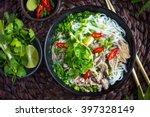 traditional vietnamese  soup... | Shutterstock . vector #397328149