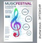 poster or brochure template... | Shutterstock .eps vector #397334149