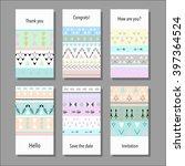 vector illustration set of... | Shutterstock .eps vector #397364524