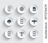 wireless technology icons  4g... | Shutterstock .eps vector #397370479