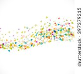 abstract creative mix... | Shutterstock .eps vector #397379215