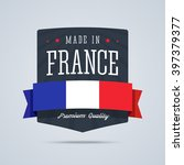 Made In France Badge With...