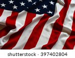 american flag as background | Shutterstock . vector #397402804