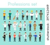 vector set of different... | Shutterstock .eps vector #397412449