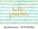 Pretty Summer Card Template....