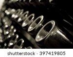 horizontal perspective view of... | Shutterstock . vector #397419805