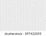 parquet diagonal seamless... | Shutterstock .eps vector #397422055