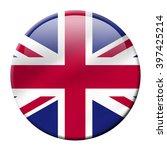uk flag icon isolated on white... | Shutterstock . vector #397425214
