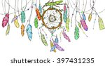 hand drawn dream catcher from...