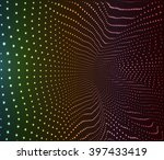 abstract vector background.... | Shutterstock .eps vector #397433419