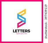 super rate logo   letter s line ... | Shutterstock .eps vector #397439119