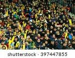 cluj napoca  romania   march 27 ... | Shutterstock . vector #397447855