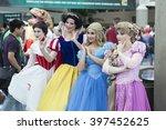 wondercon  los angeles... | Shutterstock . vector #397452625
