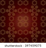 asian silk seamless patterns.... | Shutterstock .eps vector #397459075