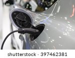 electric car charger | Shutterstock . vector #397462381