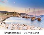 bodrum  turkey   june 27  2015  ...   Shutterstock . vector #397469245