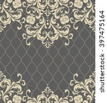 vector lace pattern in eastern... | Shutterstock .eps vector #397475164