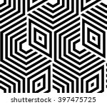 abstract geometric pattern with ... | Shutterstock .eps vector #397475725